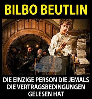 Bilbo Beutlin - Der kleine Hobbit